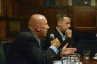 Czas na zmianę. (w ramach cyklu Debata Krakowska)  - marek lasota w krakowskim klubie wtorkowym fot. paweł zechenter18